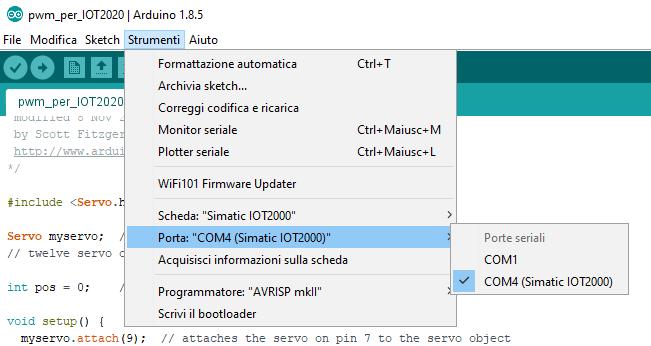 IDE Arduino - PLC SIEMENS S7 1200, S7 1500, S7 200 di G  PIRRAGLIA